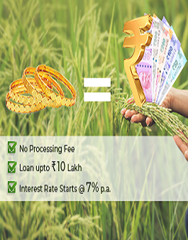 Agriculture Gold Loan Scheme